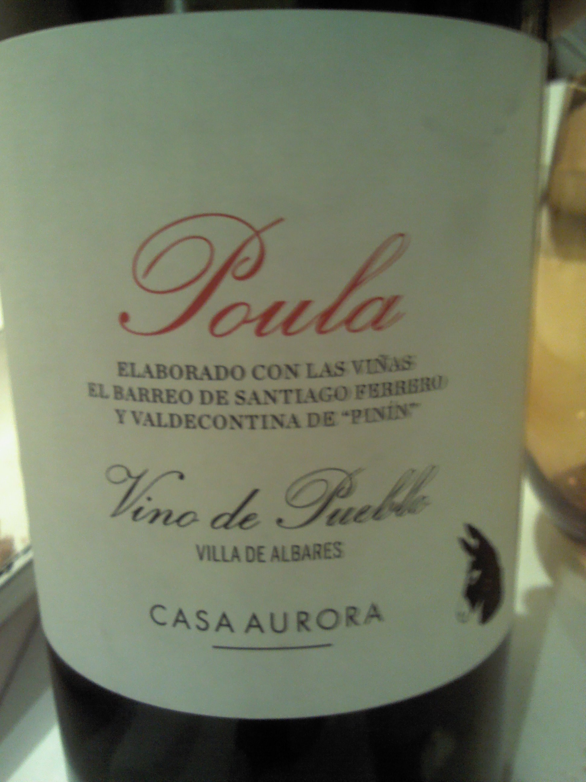 El Celler del Tossal (Valencia) Poula vino de pueblo