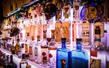 Amplia seleccion de tequilas y mezcales col