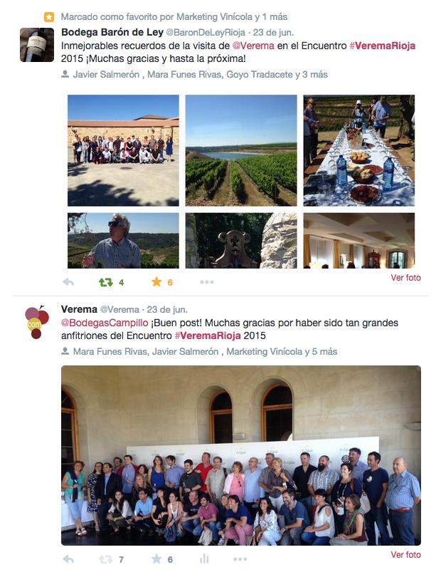 Encuentro de Foreros Verema en La Rioja 2015 #VeremaRioja