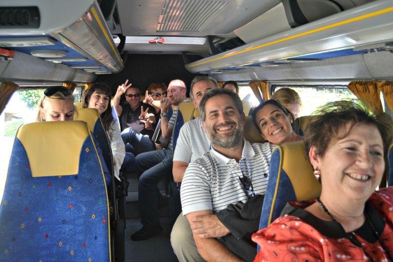 Visita Bodegas Barón de Ley 1er Encuentro Foreros 2015