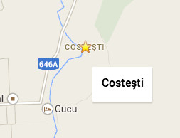 Costesti Map