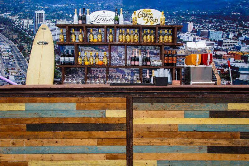 Bar - Santa Monica pop-up - SkyLounge - Cocktails in the sky