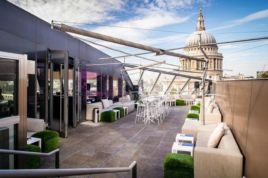 Madion's rooftop bar, St Pauls Cathedral