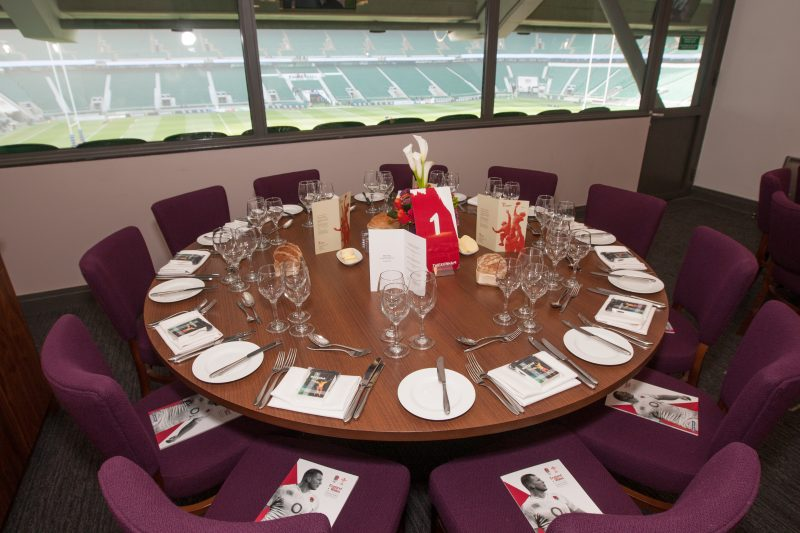 Twickenham Stadium private suite - England Rugby