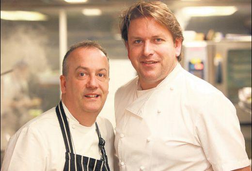 James Martin - Chewton Glen - Cookery School