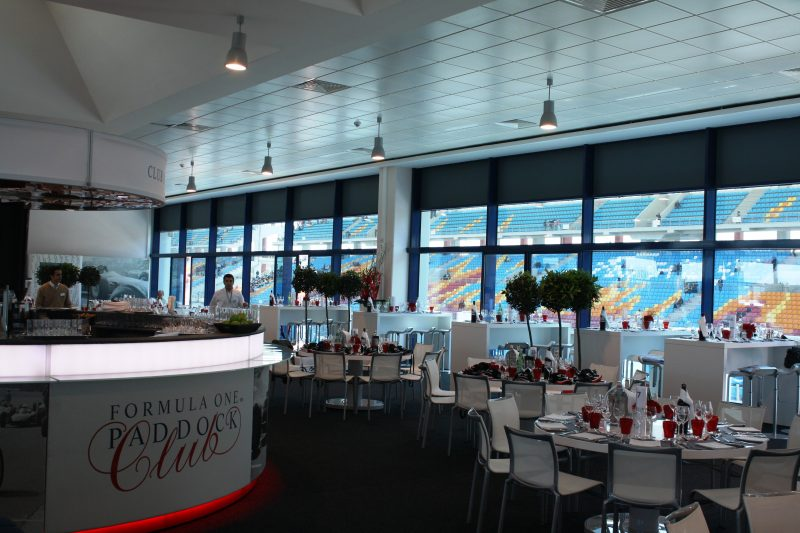 Formula One - Paddock Club