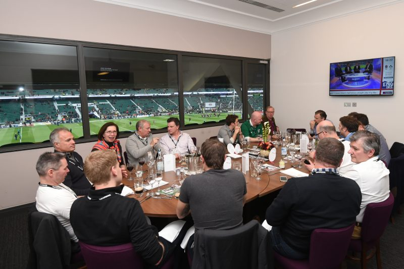 Wakefield Box, corporate hospitality at Twickenham, private box, England rugby hospitality