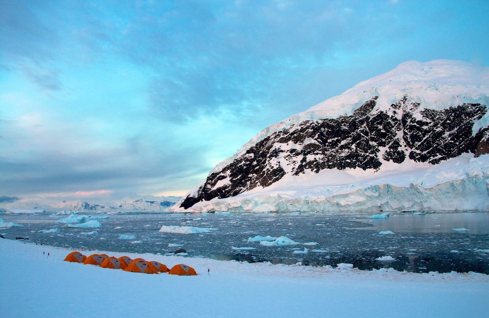 Camping in Antarctica - Global Incentives