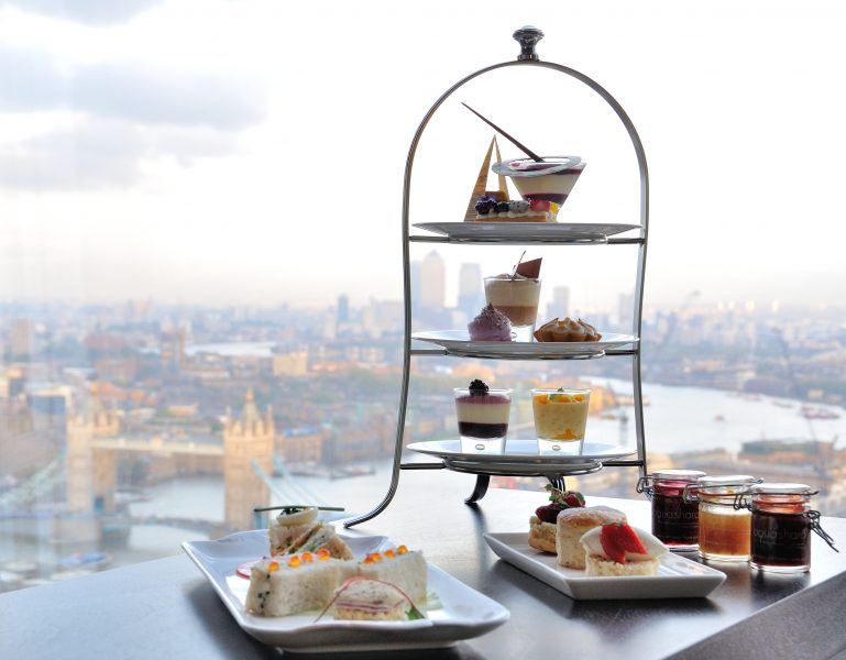 Aqua Shard Afternoon tea Landscape