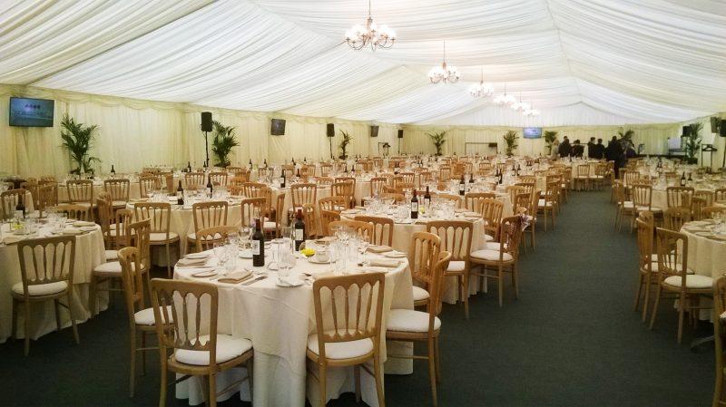Cheltenham Festival hospitality Platinum Marquee