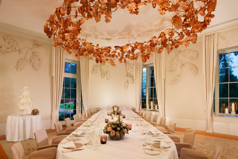 Private dining room outside London | Oak Room | Coworth Park | Venue Finding