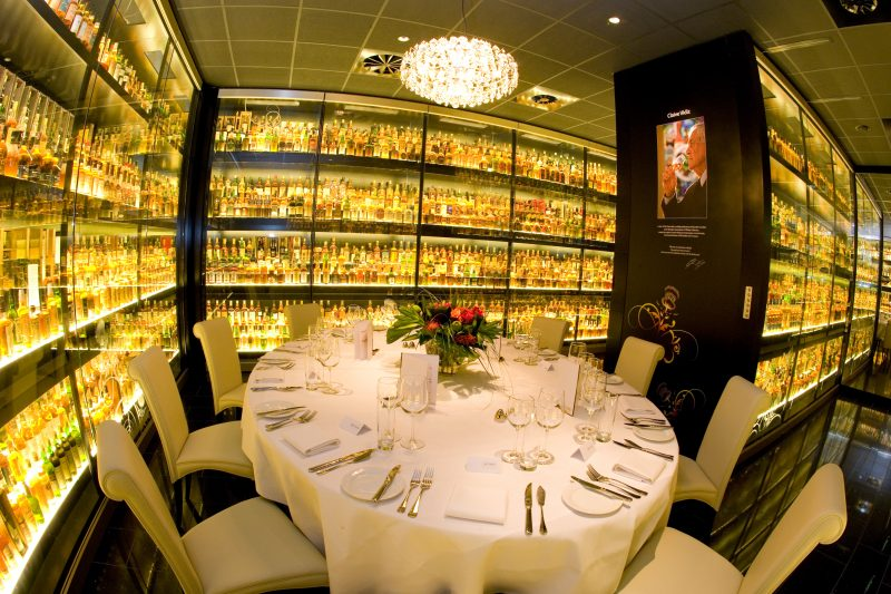 The Scotch Whisky Experience | Private dining room outside of London| Venue Finding | Edinburgh
