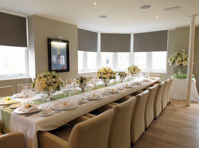 Beautfort House | Club Room | Private dining room in Chelsea | Venue Finding