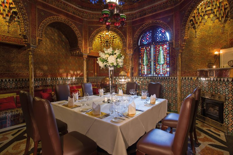 Rhinefield House | Private Dining rooms outside London | Alhambra Room