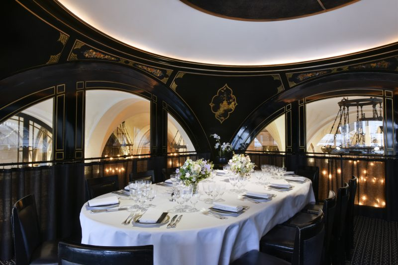 The Wolseley | private dining room in West End | Corporate Hospitality