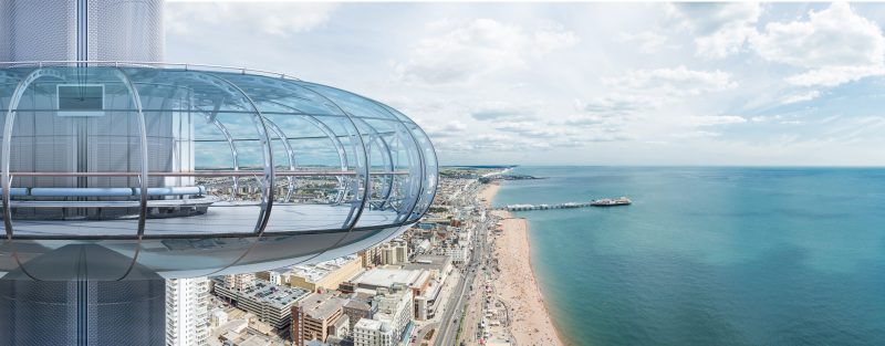 Private dining rooms outside of London | i360 British Airways | Venue Finding