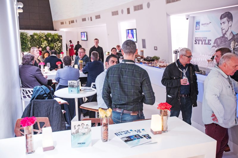 MATCH Hospitality Lounge at the Nitto ATP Finals