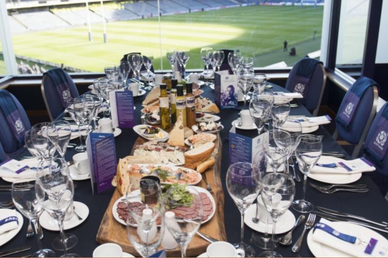 BT Murrayfield Boxes hospitality | Scotland v England hospitality | RBS Six Nations 2018 hospitality | Corporate Hospitality |