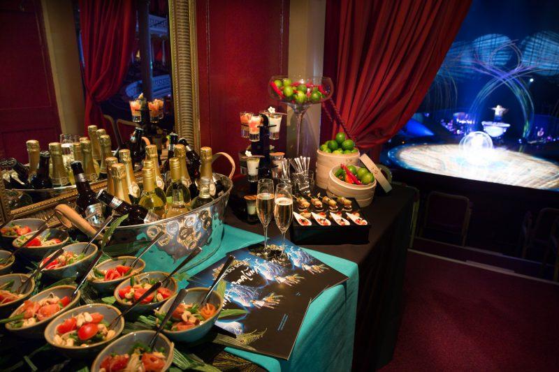 Royal Albert Hall Cirque du Soleil Box | Cirque du Soleil Box | Royal Albert Hall corporate hospitality | Cirque du Soleil box hospitality | Corporate Hospitality | Royal Albert Hall box