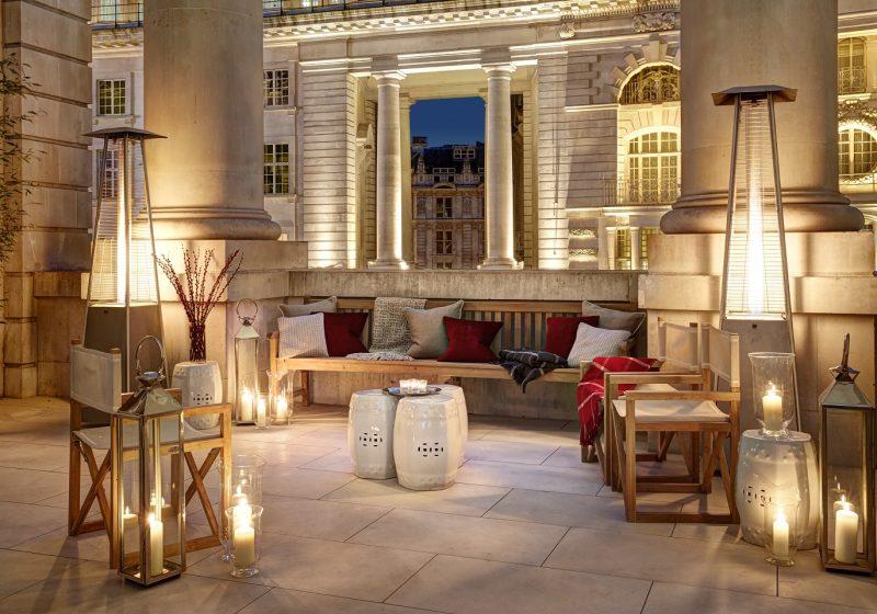 Hotel Cafe Royal - Pompadour - Terrace1