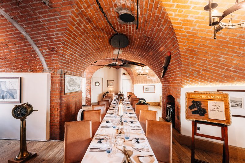 Spitbank Fort | Private Dining | Venue Finding | Free Venue Finding Service | Private Dining | Spitbank Fort