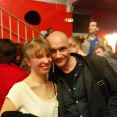 Gaëtan Roussel with Mathilde Perrette