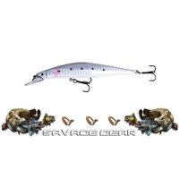 Savage gear Prey 11,5 cm 17 gr SS Suni Yem Seçenek 08-White flash
