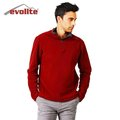 Evolite Fuga Bordo Erkek Mikro Polar Sweater Beden S