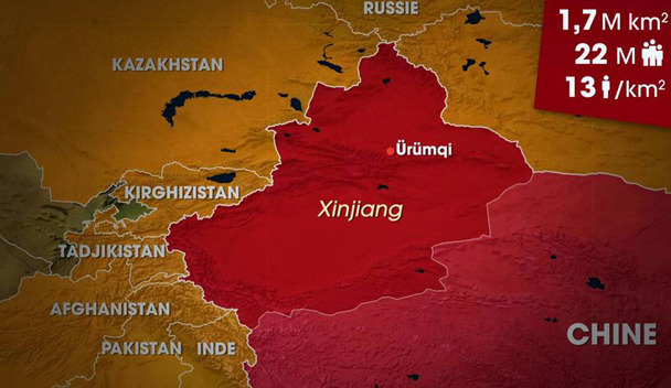 Dessous des cartes - Xinjiang : le grand Ouest chinois
