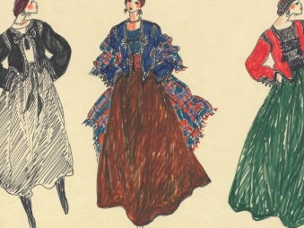 Les dessins d'Yves Saint Laurent