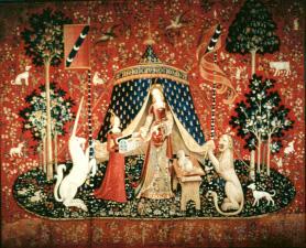 Palettes la dame la licorne en vod arte boutique - La tapisserie de la dame a la licorne ...
