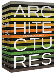 Architectures Vol. 6-7-8 coffret 3 DVD