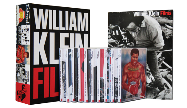William Klein Films - Coffret 10 DVD