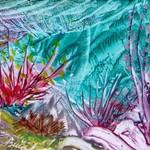 Mořské-květy-Enkaustika 0