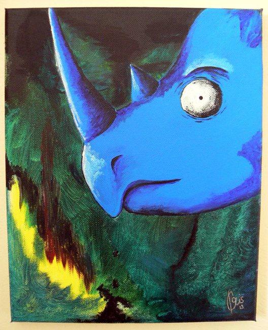 modry-nosorozec