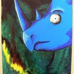 Modrý nosorožec