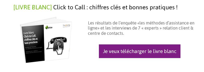 Télécharger le livre blanc : les bonnes pratiques du Click to Call