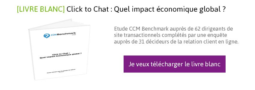 Télécharger le Livre Blanc sur l'impact économique global du click to Chat