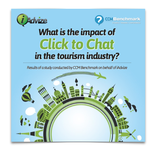 What is the impact of Click to Chat in the tourism