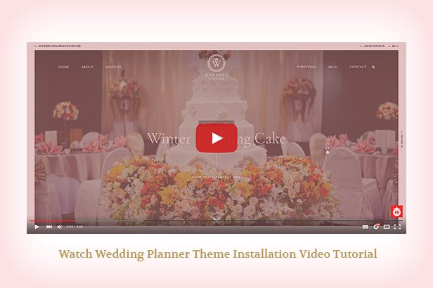 Wedding Planner - Responsive WordPress Theme - 4