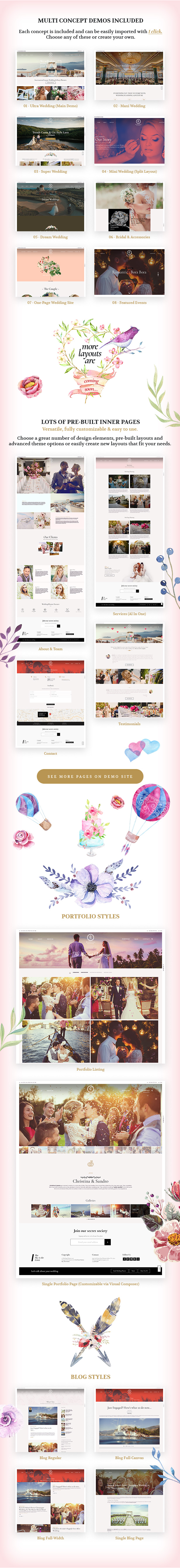 Wedding Planner - Responsive WordPress Theme - 7