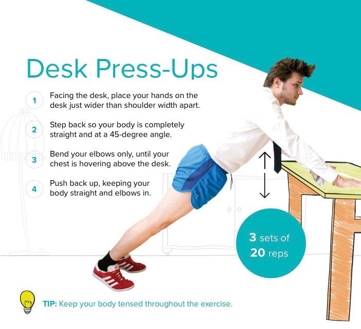 1-Desk-Press-Ups