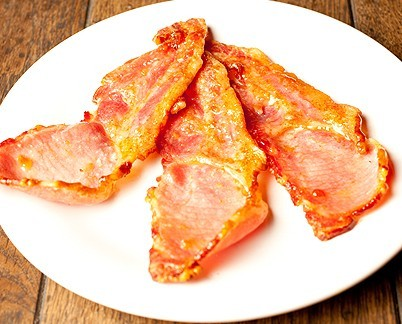 Unsmoked Rindless Bacon