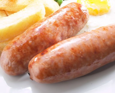 8 x 63g Great British Pork Meaty Sausages