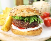 100% British Gourmet Steak Burgers