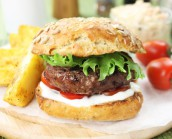 2 x 4oz British Gourmet Steak Burgers