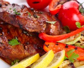 BBQ Pork Loin Steaks