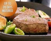 Irish Grass Fed Fillet Steaks 2 x 5-6oz