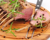 'French Trimmed' Rack of British Lamb 400g