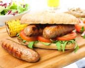 6 x Meaty British Pork Sausages